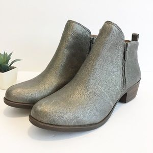 New Lucky Brand Basel Old Pewter Boots Size 11 M